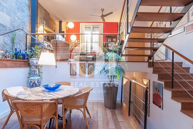Exclusive home in charming passage Eixample.