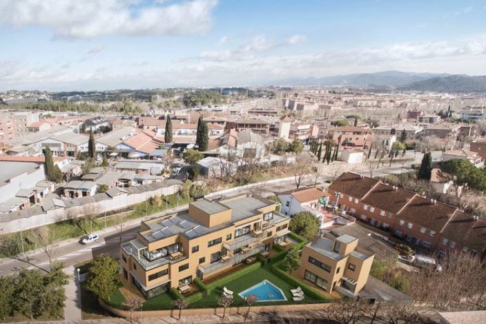 The real estate recovery reactivates the housing market in for Corner 4 sant cugat